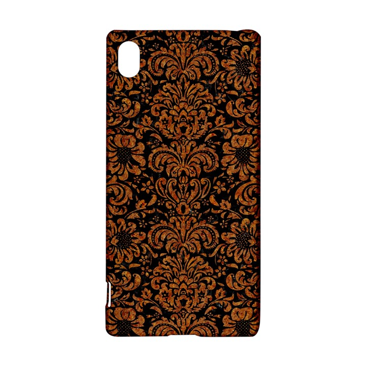 DAMASK2 BLACK MARBLE & RUSTED METAL (R) Sony Xperia Z3+