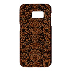 Damask2 Black Marble & Rusted Metal (r) Samsung Galaxy S7 Hardshell Case  by trendistuff