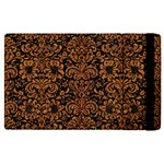 DAMASK2 BLACK MARBLE & RUSTED METAL (R) Apple iPad Pro 12.9   Flip Case
