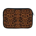 DAMASK2 BLACK MARBLE & RUSTED METAL (R) Apple MacBook Pro 17  Zipper Case