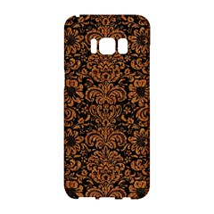 Damask2 Black Marble & Rusted Metal (r) Samsung Galaxy S8 Hardshell Case  by trendistuff