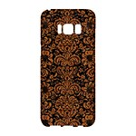 DAMASK2 BLACK MARBLE & RUSTED METAL (R) Samsung Galaxy S8 Hardshell Case