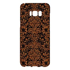 Damask2 Black Marble & Rusted Metal (r) Samsung Galaxy S8 Plus Hardshell Case  by trendistuff