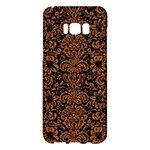 DAMASK2 BLACK MARBLE & RUSTED METAL (R) Samsung Galaxy S8 Plus Hardshell Case
