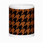 HOUNDSTOOTH1 BLACK MARBLE & RUSTED METAL Morph Mugs Center