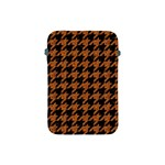 HOUNDSTOOTH1 BLACK MARBLE & RUSTED METAL Apple iPad Mini Protective Soft Cases Front