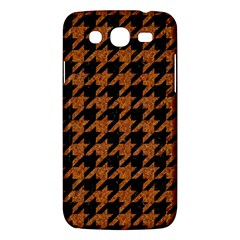 Houndstooth1 Black Marble & Rusted Metal Samsung Galaxy Mega 5 8 I9152 Hardshell Case  by trendistuff