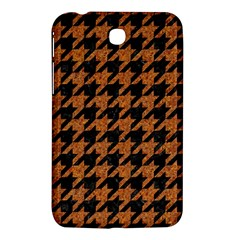 Houndstooth1 Black Marble & Rusted Metal Samsung Galaxy Tab 3 (7 ) P3200 Hardshell Case  by trendistuff