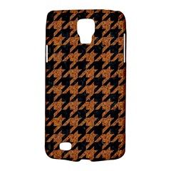 Houndstooth1 Black Marble & Rusted Metal Galaxy S4 Active by trendistuff