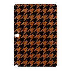 Houndstooth1 Black Marble & Rusted Metal Samsung Galaxy Tab Pro 10 1 Hardshell Case by trendistuff