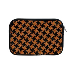 Houndstooth2 Black Marble & Rusted Metal Apple Ipad Mini Zipper Cases