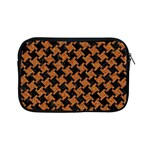 HOUNDSTOOTH2 BLACK MARBLE & RUSTED METAL Apple iPad Mini Zipper Cases Front