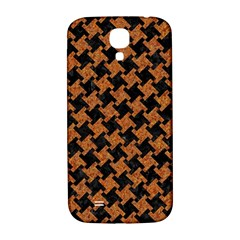 Houndstooth2 Black Marble & Rusted Metal Samsung Galaxy S4 I9500/i9505  Hardshell Back Case by trendistuff