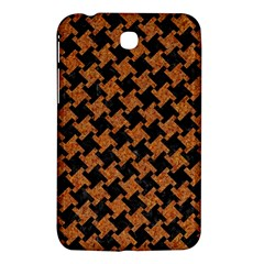 Houndstooth2 Black Marble & Rusted Metal Samsung Galaxy Tab 3 (7 ) P3200 Hardshell Case