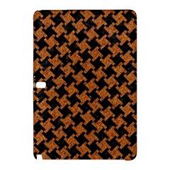 Houndstooth2 Black Marble & Rusted Metal Samsung Galaxy Tab Pro 10 1 Hardshell Case by trendistuff