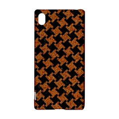 Houndstooth2 Black Marble & Rusted Metal Sony Xperia Z3+ by trendistuff