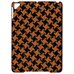 Houndstooth2 Black Marble & Rusted Metal Apple Ipad Pro 9 7   Hardshell Case by trendistuff