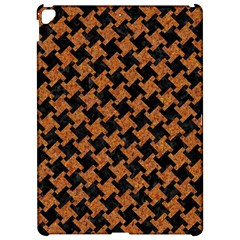 Houndstooth2 Black Marble & Rusted Metal Apple Ipad Pro 12 9   Hardshell Case