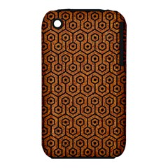 Hexagon1 Black Marble & Rusted Metal Iphone 3s/3gs by trendistuff