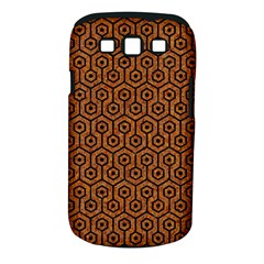 Hexagon1 Black Marble & Rusted Metal Samsung Galaxy S Iii Classic Hardshell Case (pc+silicone)