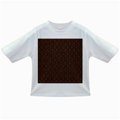 Hexagon1 Black Marble & Rusted Metal (r) Infant/toddler T Shirts by trendistuff