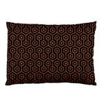 HEXAGON1 BLACK MARBLE & RUSTED METAL (R) Pillow Case 26.62 x18.9 Pillow Case