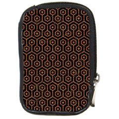 HEXAGON1 BLACK MARBLE & RUSTED METAL (R) Compact Camera Cases