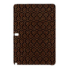 Hexagon1 Black Marble & Rusted Metal (r) Samsung Galaxy Tab Pro 12 2 Hardshell Case