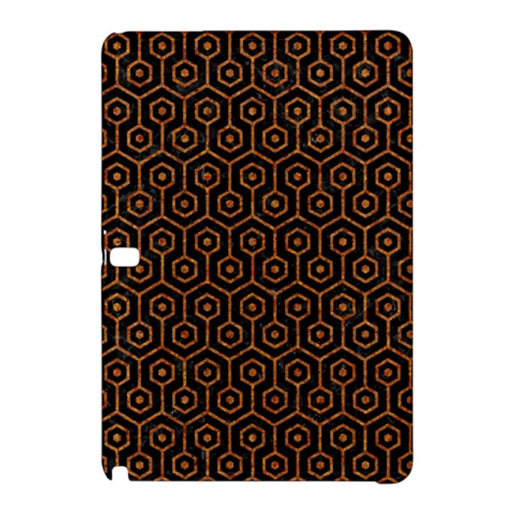 HEXAGON1 BLACK MARBLE & RUSTED METAL (R) Samsung Galaxy Tab Pro 12.2 Hardshell Case