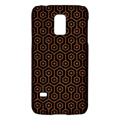 Hexagon1 Black Marble & Rusted Metal (r) Galaxy S5 Mini by trendistuff
