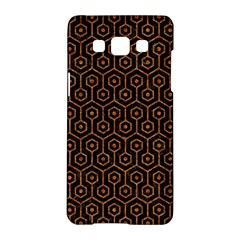 Hexagon1 Black Marble & Rusted Metal (r) Samsung Galaxy A5 Hardshell Case  by trendistuff