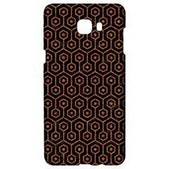 Hexagon1 Black Marble & Rusted Metal (r) Samsung C9 Pro Hardshell Case  by trendistuff