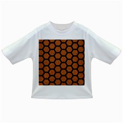 HEXAGON2 BLACK MARBLE & RUSTED METAL Infant/Toddler T-Shirts