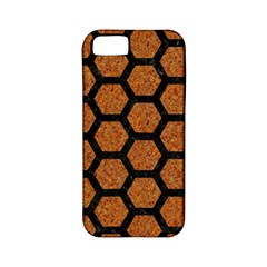 HEXAGON2 BLACK MARBLE & RUSTED METAL Apple iPhone 5 Classic Hardshell Case (PC+Silicone)