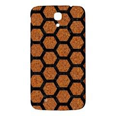 Hexagon2 Black Marble & Rusted Metal Samsung Galaxy Mega I9200 Hardshell Back Case by trendistuff
