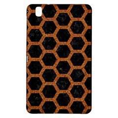 Hexagon2 Black Marble & Rusted Metal (r) Samsung Galaxy Tab Pro 8 4 Hardshell Case