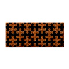 Puzzle1 Black Marble & Rusted Metal Cosmetic Storage Cases