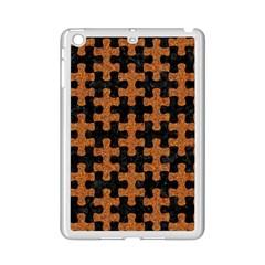 Puzzle1 Black Marble & Rusted Metal Ipad Mini 2 Enamel Coated Cases