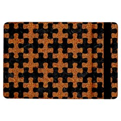 Puzzle1 Black Marble & Rusted Metal Ipad Air Flip