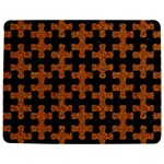 PUZZLE1 BLACK MARBLE & RUSTED METAL Jigsaw Puzzle Photo Stand (Rectangular) Front
