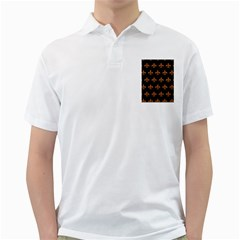 ROYAL1 BLACK MARBLE & RUSTED METAL Golf Shirts