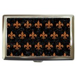 ROYAL1 BLACK MARBLE & RUSTED METAL Cigarette Money Cases Front