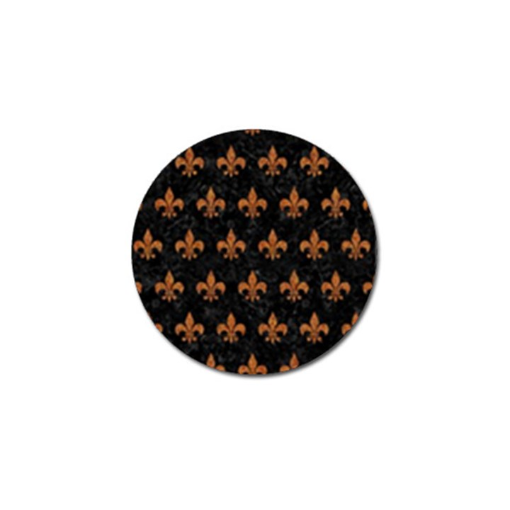 ROYAL1 BLACK MARBLE & RUSTED METAL Golf Ball Marker (10 pack)