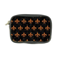 Royal1 Black Marble & Rusted Metal Coin Purse