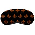 ROYAL1 BLACK MARBLE & RUSTED METAL Sleeping Masks Front