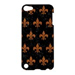 ROYAL1 BLACK MARBLE & RUSTED METAL Apple iPod Touch 5 Hardshell Case