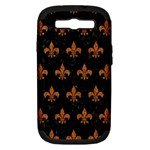 ROYAL1 BLACK MARBLE & RUSTED METAL Samsung Galaxy S III Hardshell Case (PC+Silicone)