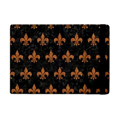 ROYAL1 BLACK MARBLE & RUSTED METAL Apple iPad Mini Flip Case