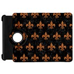 ROYAL1 BLACK MARBLE & RUSTED METAL Kindle Fire HD 7