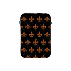 ROYAL1 BLACK MARBLE & RUSTED METAL Apple iPad Mini Protective Soft Cases